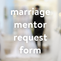 Buttons - marriage mentor request