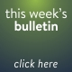 Buttons - this week's bulletin