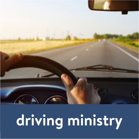 plug in and serve - driving ministry