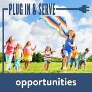 plug in and serve - kids pi&s for kids page