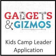 Buttons - Youth - kids camp application