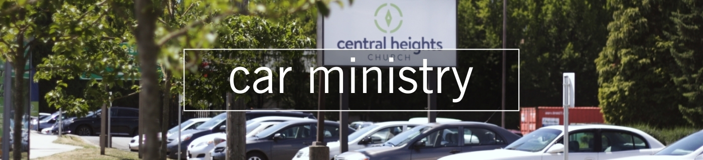 car ministry banner