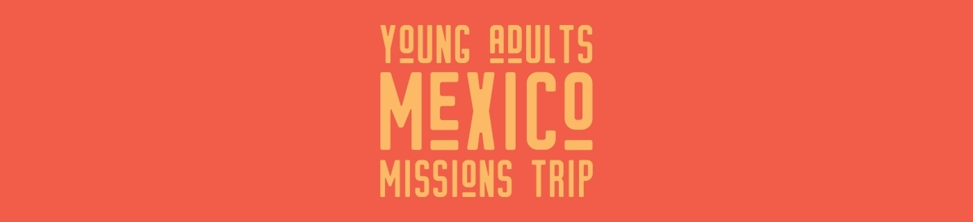 young adults missions trip